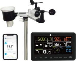 Ambient Weather WS-2902B Osprey WiFi 10-in-1