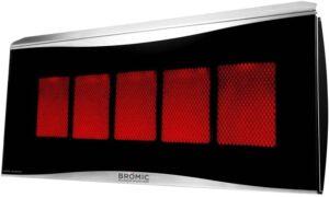 Bromic Heating BH0110003-1 Smart-Heat Platinum 500 Radiant Infrared Patio Heater