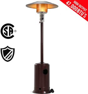 FDW Outdoor Patio Heater Tall Standing
