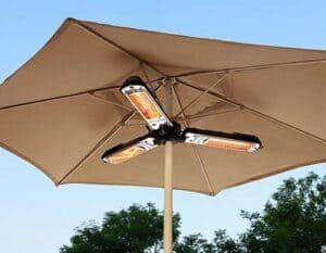 Hiland HLI-1P Electric Parasol and Umbrella Patio Heater