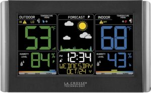 La Crosse Technology C85845 Indoor and Outdoor Thermometer
