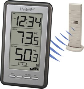 La Crosse Technology WS-9160U-IT Indoor and Outdoor Thermometer