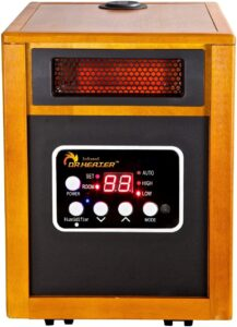 Dr. Infrared Heater, Portable Space Heater with Humidifier