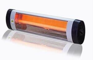 Versonel Electric Wall Mount Infrared Indoor/Outdoor Heater