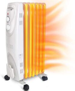AigostarPangpang Oil Filled Electric Heater