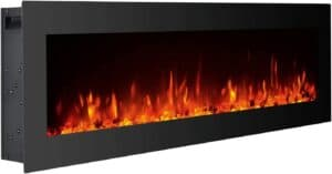 GMHome 40 Inches Electric Fireplace
