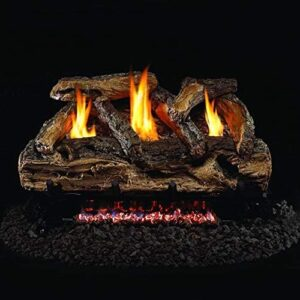 Peterson Oak Log Set with Vents