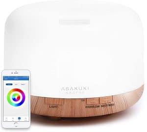 Asakuki 500ml Smart Essential Diffuser