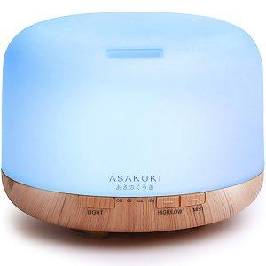 Asakuki Premium 500ml Essential Oil Diffuser