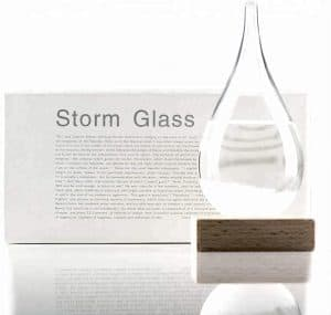 Storm Glass Weather Station Barometer Scientific Decorative Gift