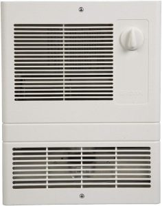 Grille Heater with Built-In Adjustable Thermostat