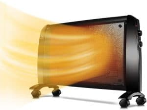 Wall Mica Panel Space Heater