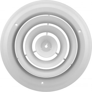 "8"" Round White Ceiling Diffuser"