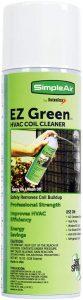 SimpleAir Green EZGA Coil Cleaning Spray