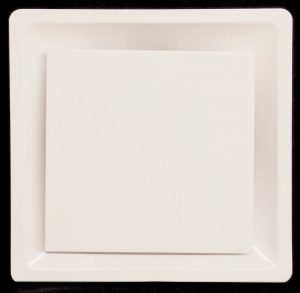 T-Bar Flat Plate Drop Ceiling Diffuser