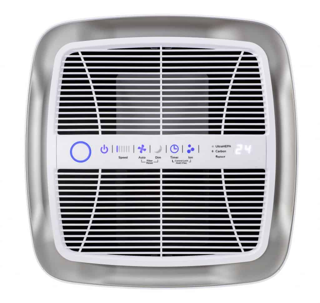 AirDoctor 5000 Air Purifier control panel