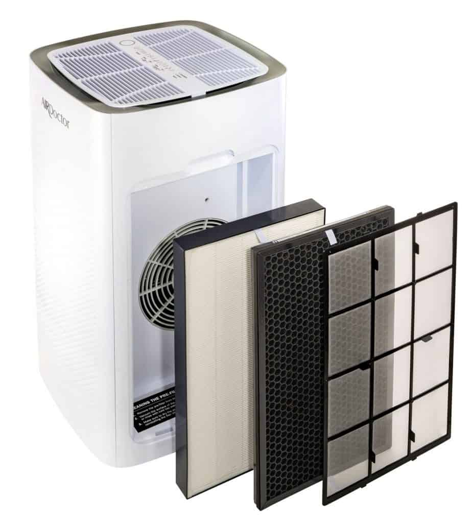 AirDoctor 5000 Air Purifier filters