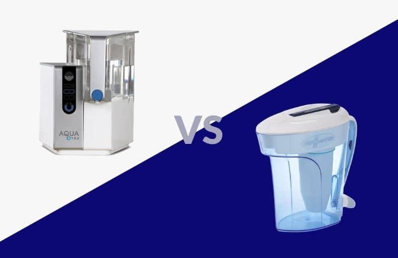 AquaTru vs. Zero Water