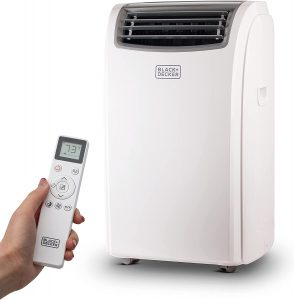 BLACK+DECKER BPT08WTB Portable Air Conditioner with Remote Control