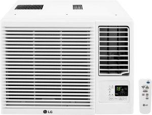 LG 12,000 BTU Window Air Conditioner with Heat