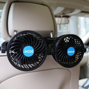 XOOL Electric Car Fans for Rear Seat Passenger