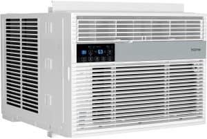 hOmeLabs 12,000 BTU Wi-Fi Window Air Conditioner