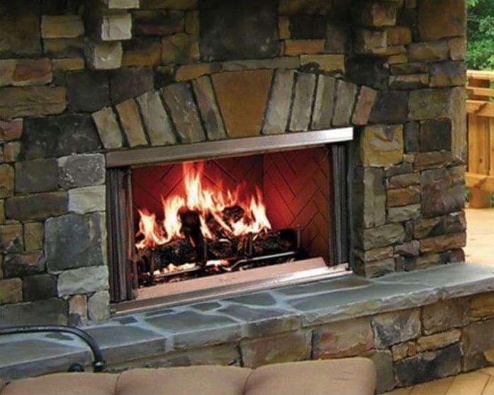 "Majestic Montana Outdoor Wood Burning Fireplace- 36"""